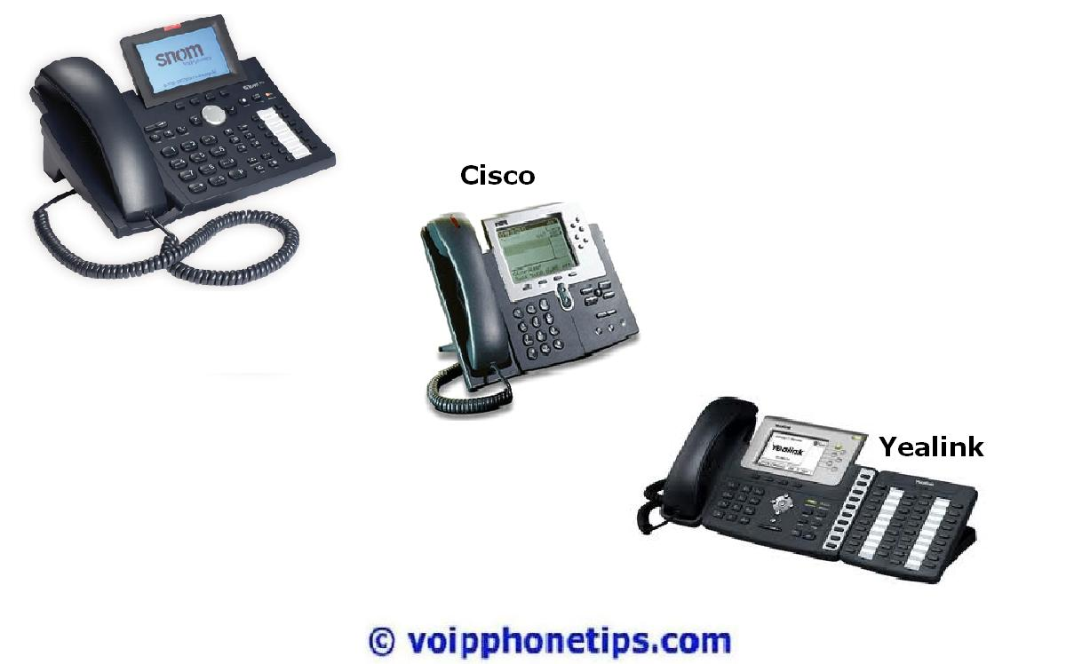 Advanced IP Phones
