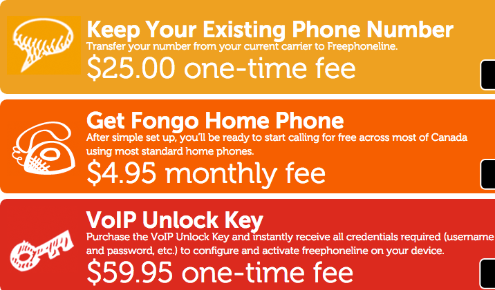 FreePhoneLine.Ca Fees & Plans