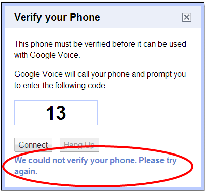 GV Verify Your Phone Number New 1