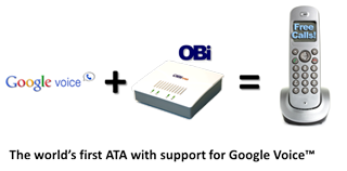 OBi ATA and Google Voice Setup