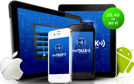 Nettalk Smartphone Apps