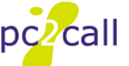 PC2Call.Com Logo